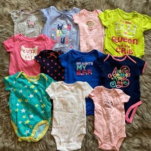 0-6 month girly clothes